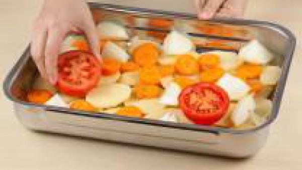 Pela las zanahorias