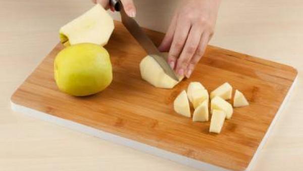 Cómo hacer lomo de cerdo relleno de manzanas paso 1