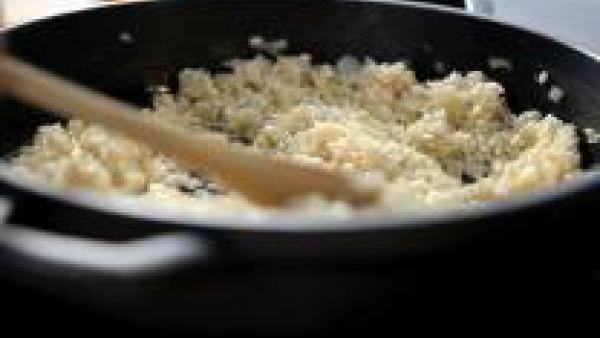rehoga el arroz