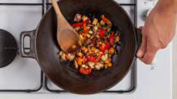 Cómo preparar Salteado de cebada y verduras - paso 2