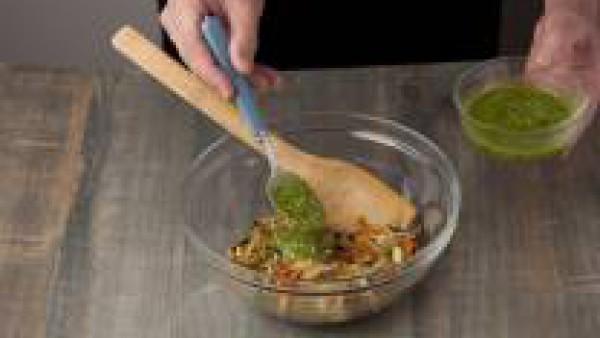 Cómo preparar Lasaña fácil con espinacas, verduras y salsa pesto- Paso 2