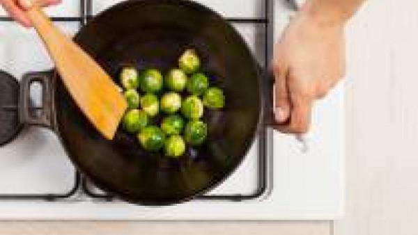 Cómo preparar pincho de carne y verdura - paso 2