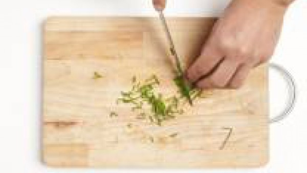 Picar el cebollino