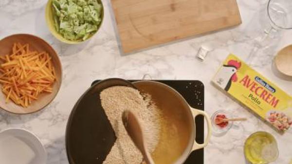 Cómo hacer quino con verduras - paso 2