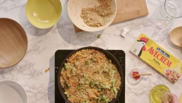 Cómo hacer quino con verduras - paso 3