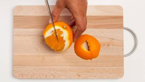 Cómo preparar Ensalada de lentejas, naranjas y jengibre - Paso 3