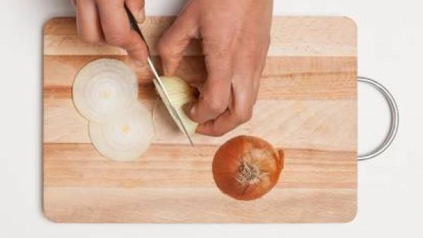 Cómo preparar Risotto con guisantes - paso 1