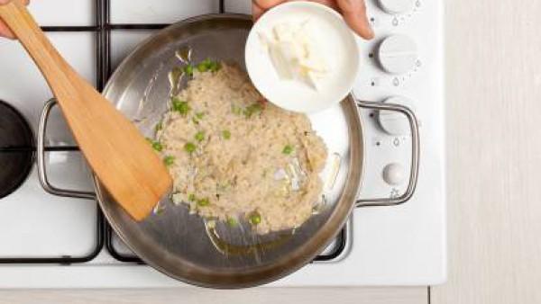 Cómo preparar Risotto con guisantes - paso 3