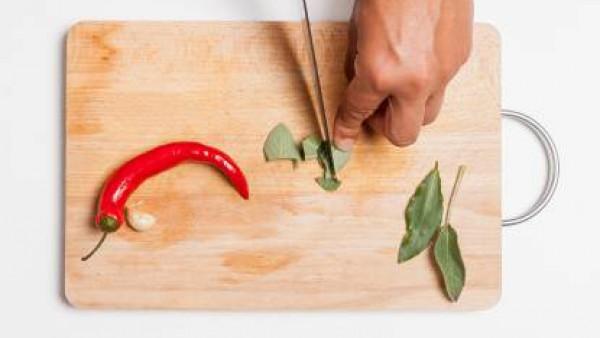 Cómo preparar Guisantes picantes - Paso 2