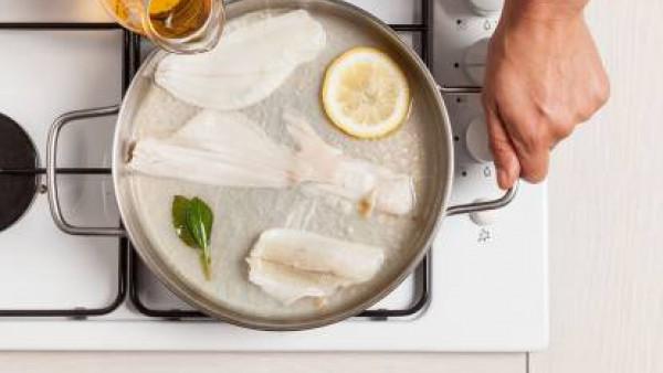 Cómo preparar Lenguado al limón. Paso 1