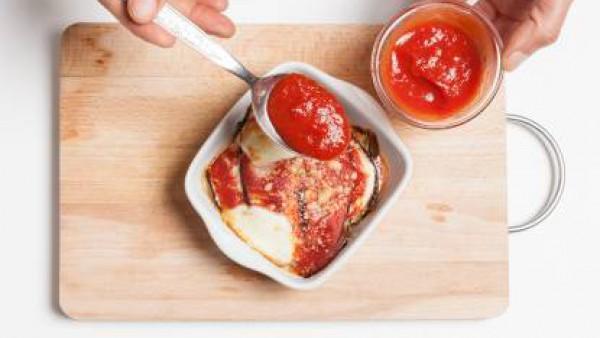 Cómo preparar Pizza de berenjenas- Paso 3