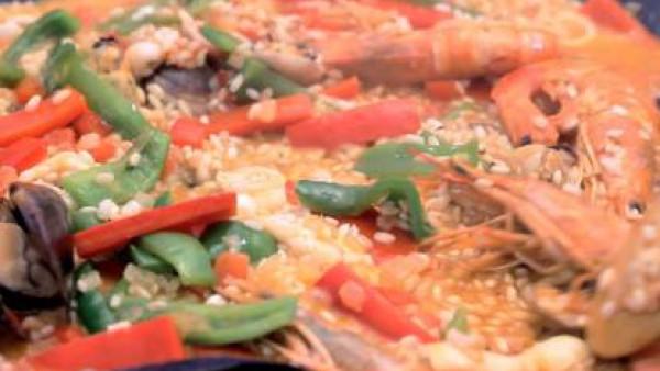 Cómo hacer paella de marisco - paso 3