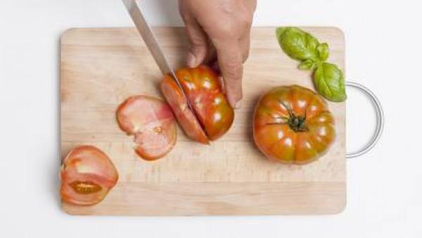 Cómo preparar ensalada de pasta caprese- Paso 1