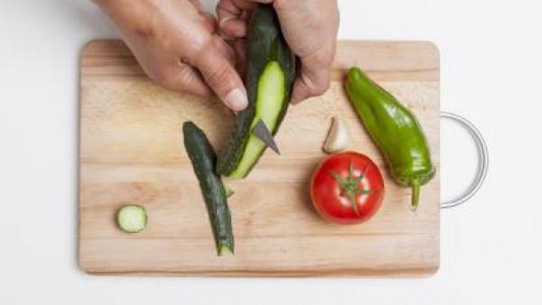 Cómo preparar Gazpacho andaluz- Paso 1