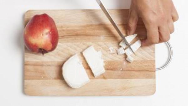 Cómo preparar Ensalada de achichoria con queso de cabra- Paso 2