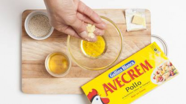 Cómo preparar Ensalada de achichoria con queso de cabra- Paso 3