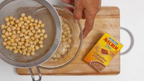 Primer paso cocido madrileño