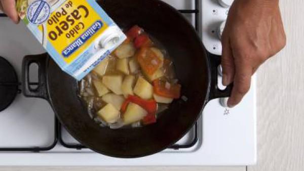 Cómo preparar Patatas a la riojana-Paso 3