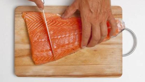 Cómo preparar Salmón al horno- Paso 1