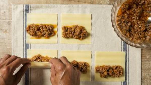 Cómo preparar Canelones de carne- Paso 3