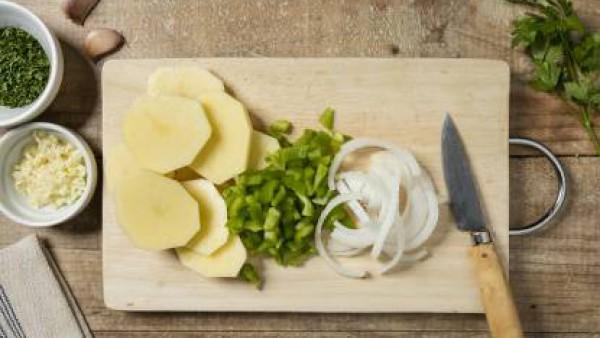 Cómo preparar Bacalao al horno– paso 1