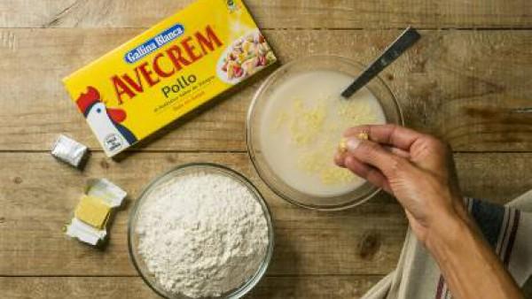 Cómo preparar Focaccia - paso 1
