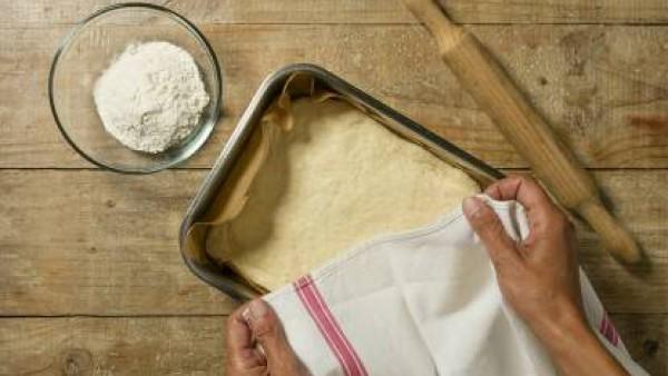 Cómo preparar Focaccia - paso 3