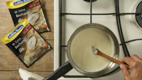 Cómo preparar Coliflor con bechamel- paso 3