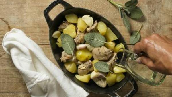 Cómo preparar Conejo al horno - paso 3