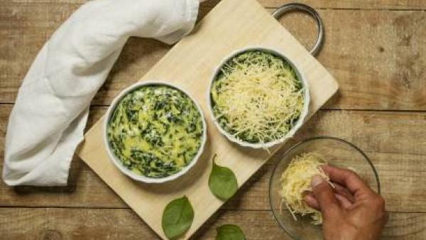 Cómo preparar Espinacas a la crema- paso 3