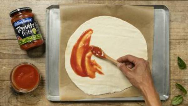 Cómo preparar Pizza casera- paso 2