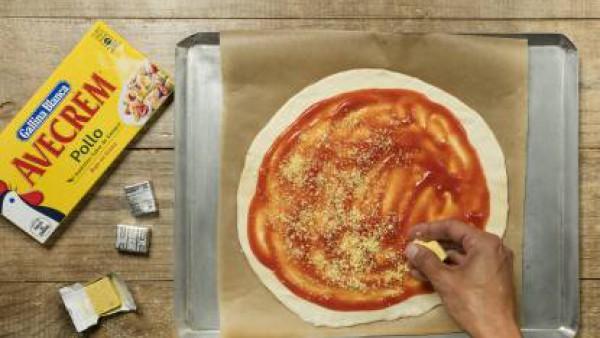 Cómo preparar Pizza casera- paso 3