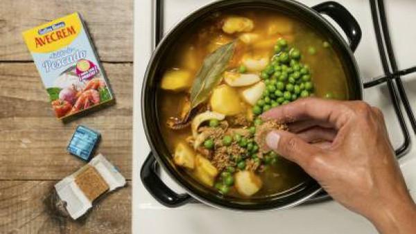 Cómo preparar Sepia con patatas - paso 3