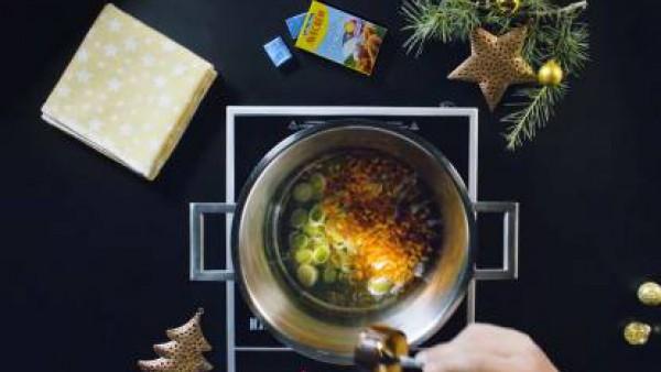 Cómo preparar Crema de marisco - Paso 1