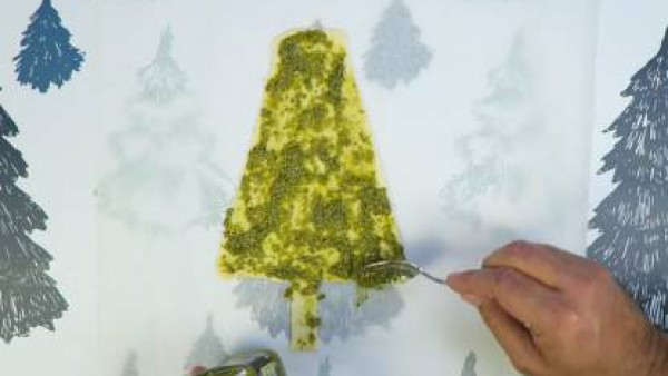 Cómo preparar Árbol de Navidad de hojaldre - Paso 1