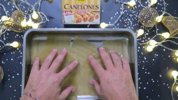 Cómo preparar Canelones de marisco - Paso 1