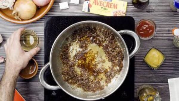 Segundo paso costillas en salsa barbacoa