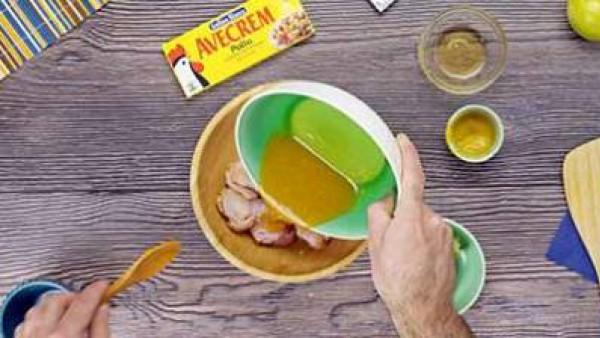 Tercer paso alitas con mostaza y miel