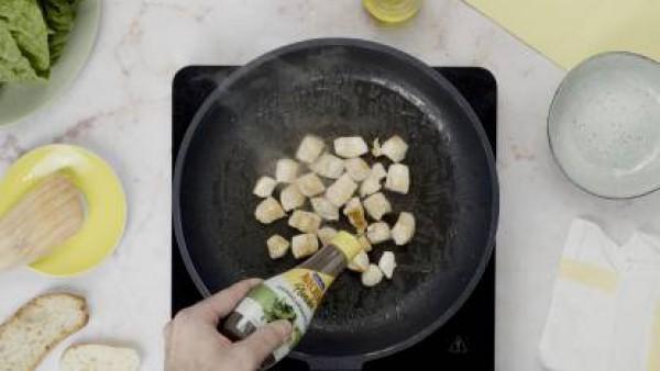 Paso uno ingredientes ensalada cesar
