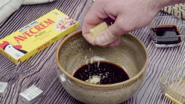 Primer paso costillas de cerdo a la miel