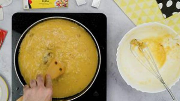 Tercer paso tortilla de patatas