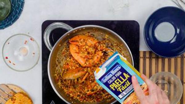 Segundo Paso arroz caldoso con bogavante