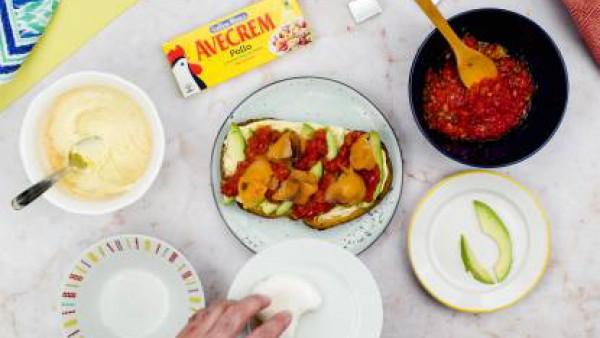 Tercer paso tostada original