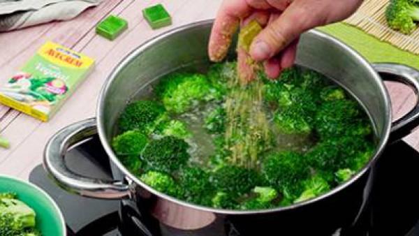 Primer paso ensalada de brócoli