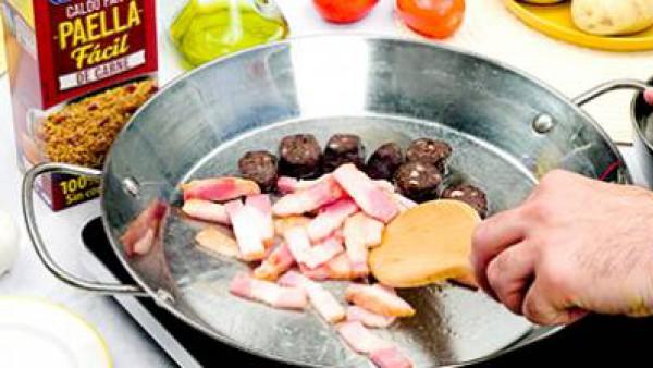 Primer paso arroz al horno