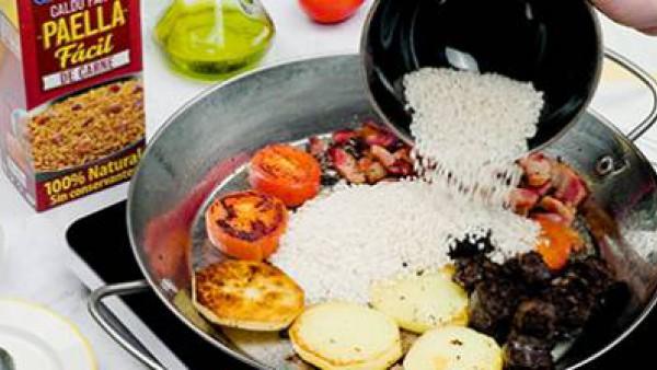 Segundo paso arroz al horno