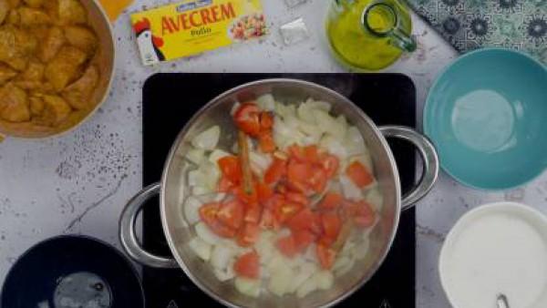 Segundo paso pollo al curry