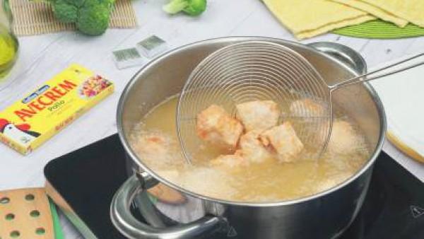 Tercer paso pollo con brócli