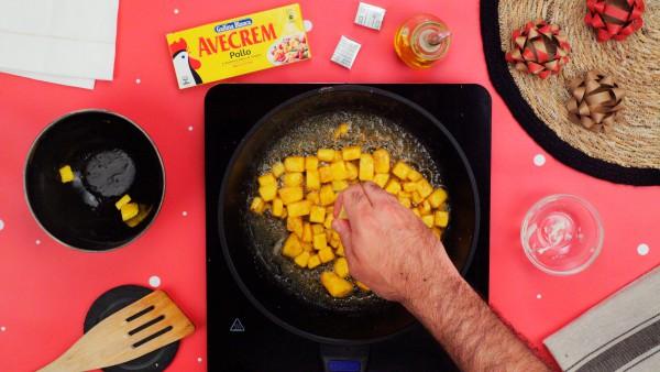 Primer paso canapés deliciosos