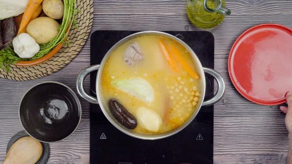 Tercer paso cocido castellano